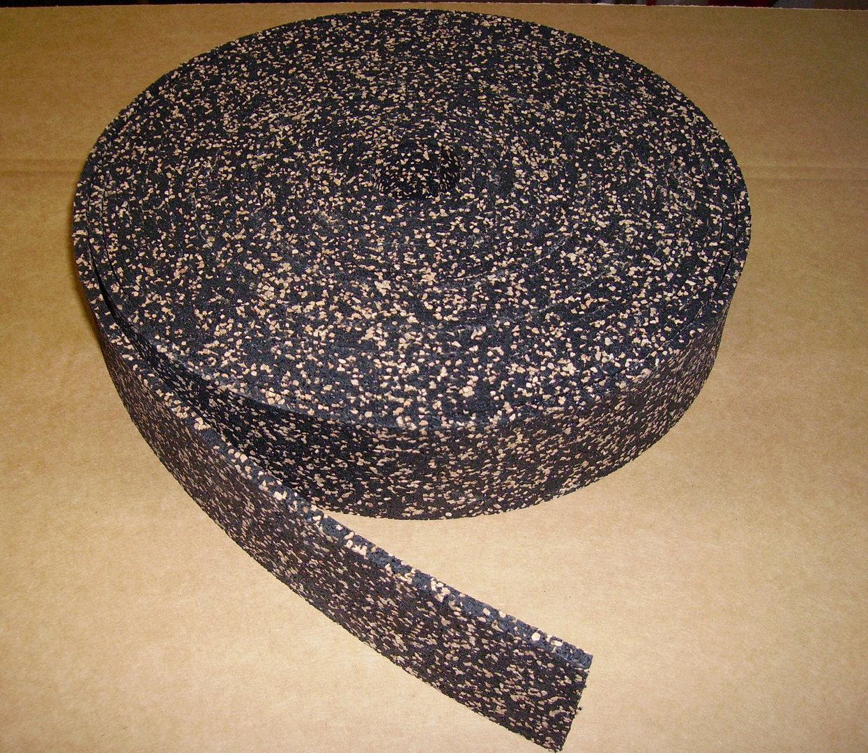 streifen trittschalld mmung gummi kork rgs shop. Black Bedroom Furniture Sets. Home Design Ideas